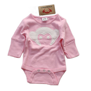Appaman Monkey Onesie (cotton candy)