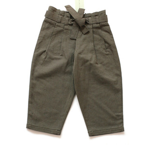 Lili & the funky boys Nadia linen trousers (khaki brown)