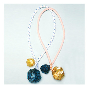 Kico kids Plexidisc-charm necklace