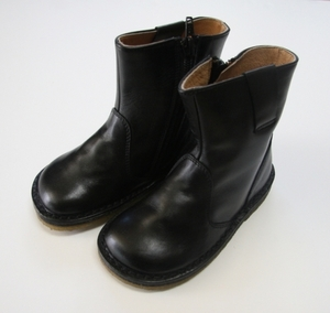Pepe Black Calf Ankle Boots