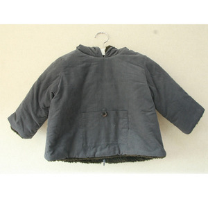 Bonton Baby Hooded Coat (myrtille)