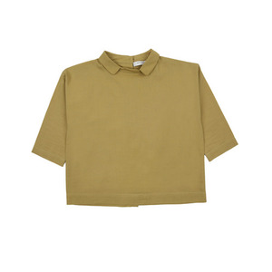 Caramel Baby and Child Seagull Top (lime poplin)