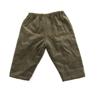 Makie Corduroy Baby Pants (khaki)