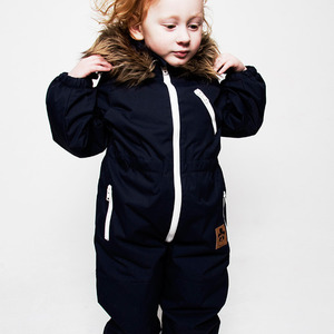 Mini rodini Livingstone Overall (blue)