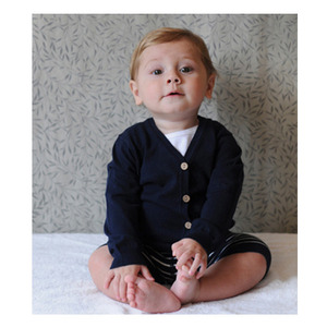 Neige Emery Baby Cardigan (Navy)