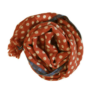 Dot Scarf (red)