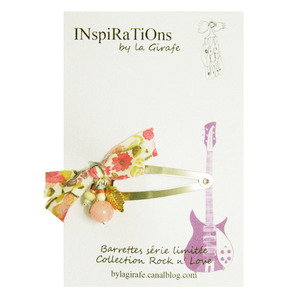 INspiRaTiOns by la Girafe Leaf Pin (light pink)