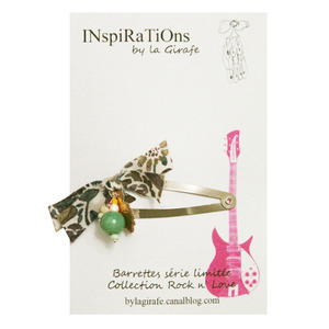 INspiRaTiOns by la Girafe Leaf Pin (green)