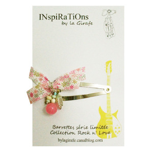 INspiRaTiOns by la Girafe Leaf Pin (pink)
