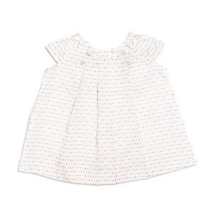 Eggbaby Cotton Shiring Dots Top