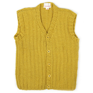 40%_Wool Gilet (yellow)