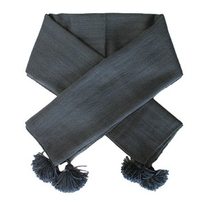 Wool Scarf (dark blue)