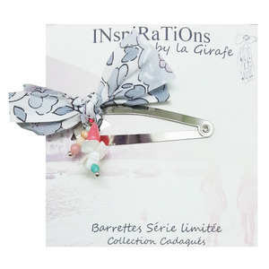 Bids Barrettes (light grey)