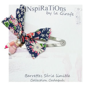 Bids Barrettes (navy)