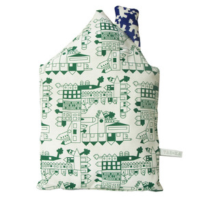Little Play Cushion (green house)