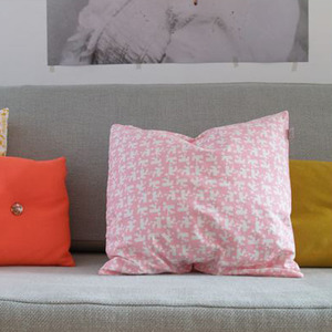 House Cushion (pink)