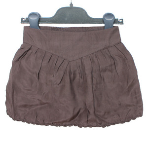 Brown Silk Skirt