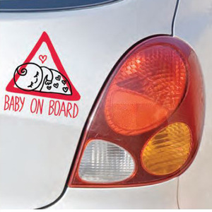 Baby on board by Javirroyo