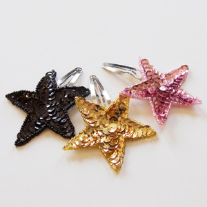 [재입고]Sequins Star Hair Pin (3colors)