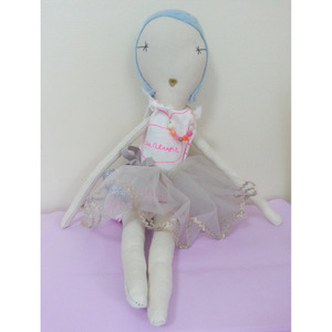 Jess Brown Rag Doll (silver)