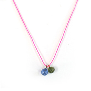 Makie Vintage Glass Necklace (6colors)