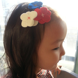 [재입고]Felt Flower Hairclip (C)