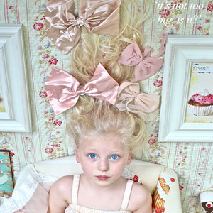 Chiffon Hair Bow (2colors)