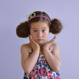 [2차재입고] Bead Bow Headband (2colors)