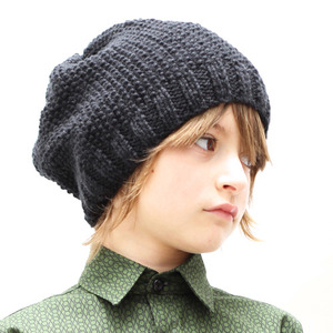 Knitted Hat (black)