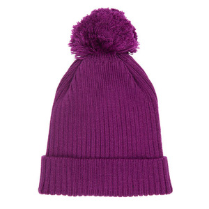 Xeno Pompom Beanie (grape)