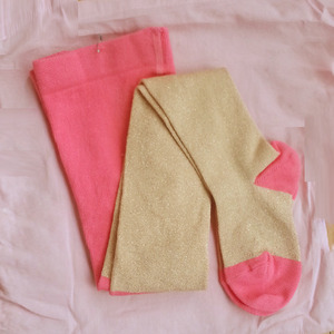 Lurex Tights (gold)