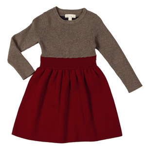 (2y)Colorblock Dress (flame)