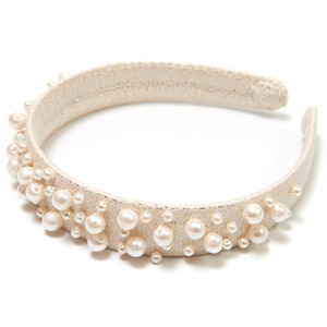 [재입고]Wide Pearl Hairband