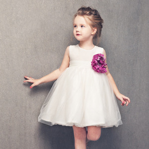 (4y)Natalie Dress (white)