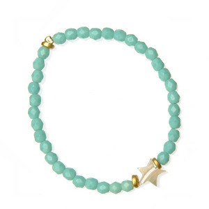 Bracelet Lucky Star (mint)