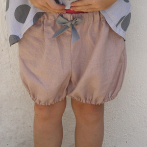 Bloomers (rose linen)