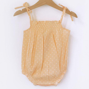 Poppy Romper (peach)