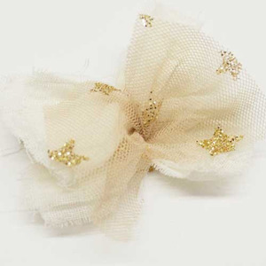 Glitter Star Hairpin (ivory)