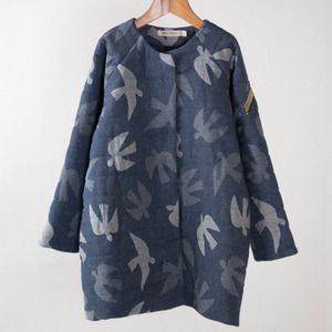Jacquard Coat Birds #150