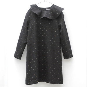 (2/3y)Ilse Dress (gold dot)