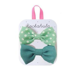 Bow Clips (green)