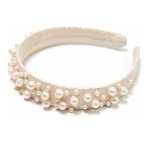 Wide Pearl Hairband