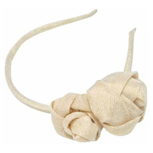 Flower Hairband (golden)