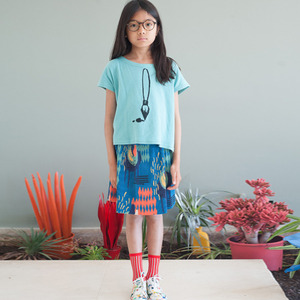 (2/3y)Pleated Skirt #111