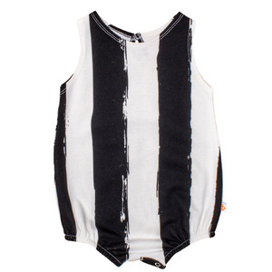 (12/18m)Romper (black stripe)
