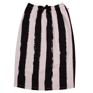 Long Skirt (black stripes)
