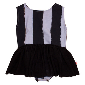 Baby Dress (black stripe)