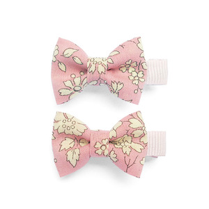 Little Bow Clips (pink)