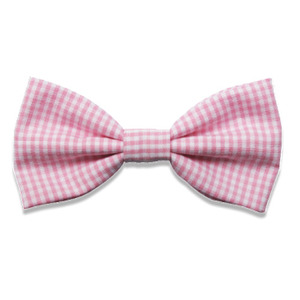 Long Bows (pink gingham)