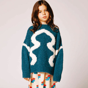 Bull Sweater (electric blue)